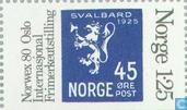 Briefmarken - Norwegen - 125 blau / grau