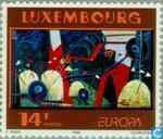 Postage Stamps - Luxembourg - Europe - Contemporary art