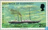 Postage Stamps - Guernsey - Mail Boats