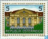 Postage Stamps - Austria [AUT] - Viennese concert 75 years