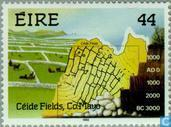 Postage Stamps - Ireland - Céide fields