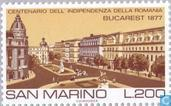 Postage Stamps - San Marino - Famous world-Bucharest