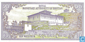 Billets de banque - Royal Monetary Authority of Bhutan - Bhoutan Ngultrum 10