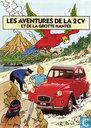 Strips - Kuifje - Les aventures de la 2 CV et de la grotte hantée