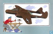 "Comics - Kuifjesbon producten - Chromo's ""Vliegtuigen '39-'45"" 45"