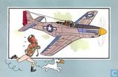 "Comics - Kuifjesbon producten - Chromo's ""Vliegtuigen '39-'45"" 47"