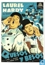 Postcards - Spanish Posters - Quesos y besos