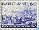 Postzegels - Italië [ITA] - Landing Garibaldi op Sicilië