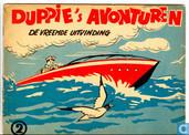 Bandes dessinées - Duppie's avonturen - De vreemde uitvinding