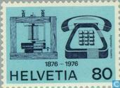 Postage Stamps - Switzerland [CHE] - Telephone 100 years
