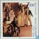 Postzegels - Duitsland, Bondsrepubliek [DEU] - Franz Schubert