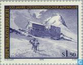 Timbres-poste - Autriche [AUT] - Club alpin 1878-1978