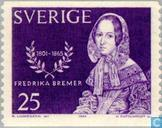Timbres-poste - Suède [SWE] - Frederika Bremer