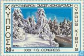 Postage Stamps - Cyprus [CYP] - Congress Ski Association