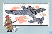 """Comic Books - Kuifjesbon producten - Chromo's """"Vliegtuigen '39-'45"""" 50 """"Blohm-Voss BV-141 'Assymmetrisch' - 1943 - Duitsland"""""""