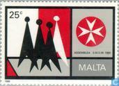 Timbres-poste - Malte - Chevaliers Malteser afin