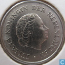 Coins - the Netherlands - Netherlands 25 cents 1962