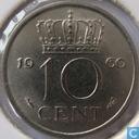 Münzen - Niederlande - Niederlande 10 Cent 1960