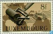 Timbres-poste - Luxembourg - 75 ans de l'UPU