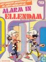 Strips - Mini-mensjes, De - Alarm in Ellendam