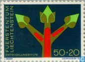 Postage Stamps - Liechtenstein - Development