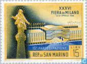 Postzegels - San Marino - Beurs