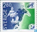 Postzegels - Zweden [SWE] - E.K. Voetbal
