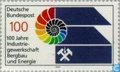 Postzegels - Duitsland, Bondsrepubliek [DEU] - Mijnwerkersvakbond 1889-1989