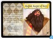 Trading cards - Harry Potter 3) Diagon Alley - Hagrid, Keeper of Keys