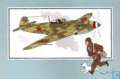 """Strips - Kuifjesbon producten - Chromo's """"Vliegtuigen '39-'45"""" 51"""