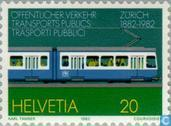 Postage Stamps - Switzerland [CHE] - Tram Zurich 100 years