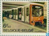 Opening of first Subway Line in Brussels