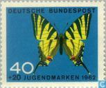 Postage Stamps - Germany, Federal Republic [DEU] - Butterflies