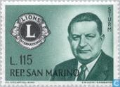Timbres-poste - Saint-Marin - Lions