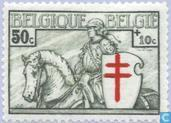 Postage Stamps - Belgium [BEL] - Knight