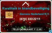 Kwaliteit in brandbeveiliging Siemens Nederland BV