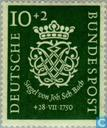 Briefmarken - Deutschland, Bundesrepublik [DEU] - Bach, Johann Sebastian 1685-1750
