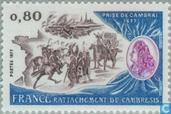 Postage Stamps - France [FRA] - Cambrai region with France