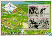 Postage Stamps - Åland Islands [ALA] - Sports games of the small islands