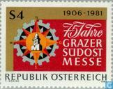 Postage Stamps - Austria [AUT] - Graz Exhibition 75 years