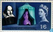 Postage Stamps - Great Britain [GBR] - Shakespeare festival