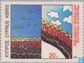 Postage Stamps - Cyprus [CYP] - Zeegeologie Conference