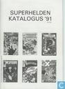 Comic Books - Wolverine - Superhelden katalogus '91