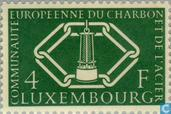 Postage Stamps - Luxembourg - Union Coal 4 years