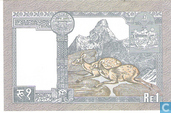 Banknoten  - Central Bank of Nepal - Nepal 1 Rupie