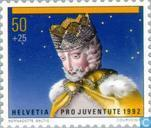 Postage Stamps - Switzerland [CHE] - King Melchior