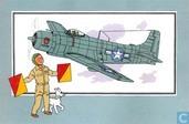 """Strips - Kuifjesbon producten - Chromo's """"Vliegtuigen '39-'45"""" 60"""