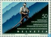 Postage Stamps - Switzerland [CHE] - Patent Shelf 50 years