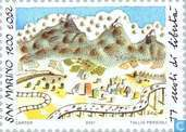 Postzegels - San Marino - Republiek San Marino 301-2001