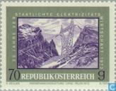Postage Stamps - Austria [AUT] - Nationalized electricity industry 25 years